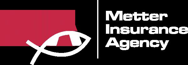 Metter Insurance Agency logo white